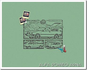 ALFA ROMEO ARNA WALLPAPER