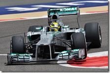 Rosberg conquista la pole del gran premio del Bahrain 2013