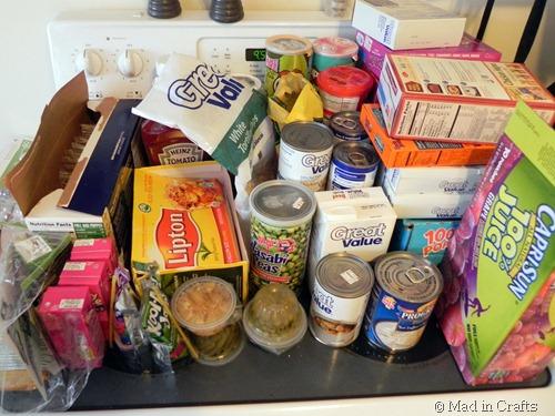 food unloaded
