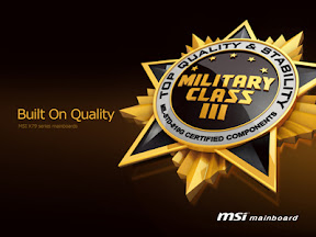 MSI Announces All-New X79 Motherboard Series Featuring Military Class III Components