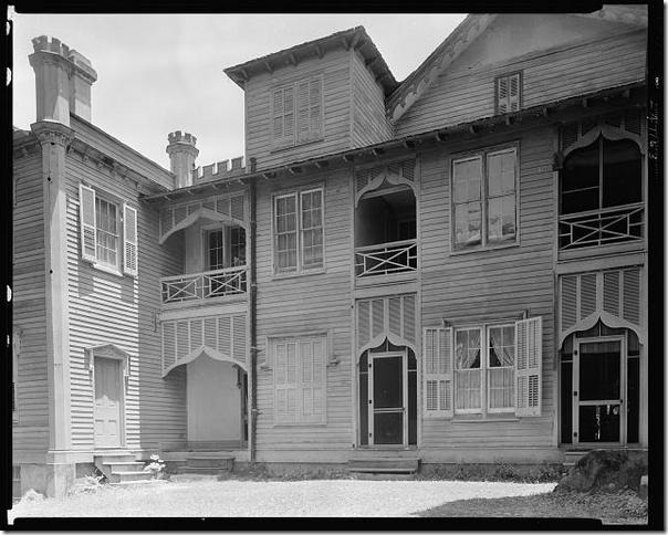 Afton Villa pic taken 1938 - back view