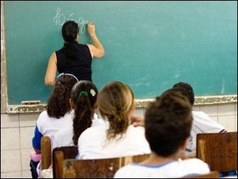 professor sala de aula