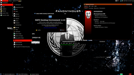 Anonymous-OS 0.1