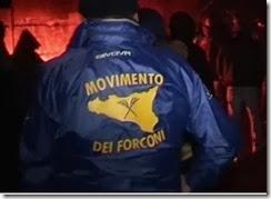Movimento da Forquilha - Camionistas bloqueiam estradas de Itália. Dez. 2013