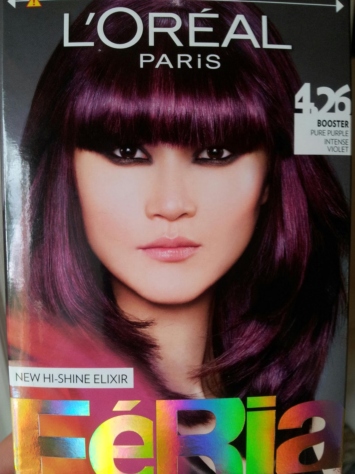 Plum Eggplant Hair Color Like to have purple hair,