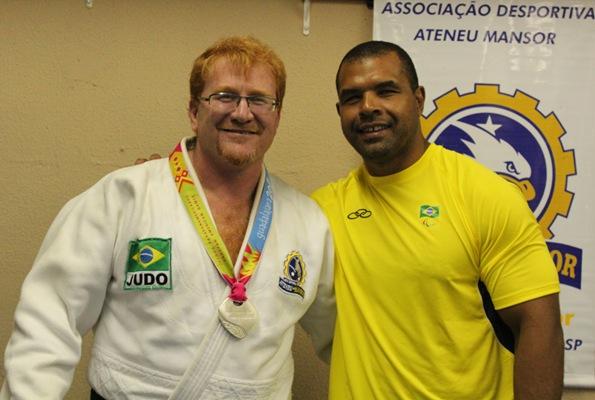 Prof Léo Mansor com Antônio Tenório