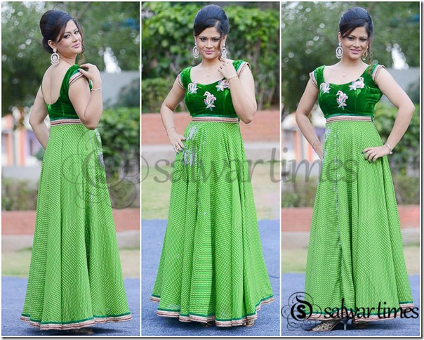 Shilpa_Chakravarthy_Long_Anarkali