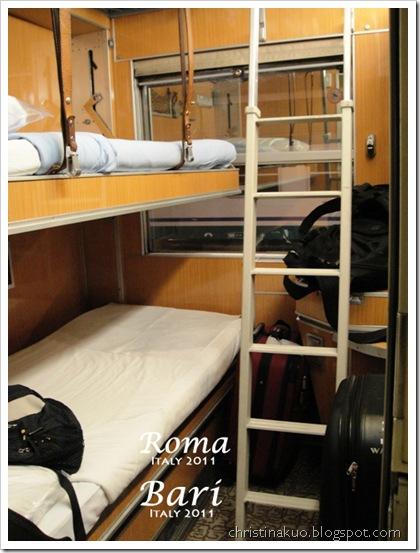 秀語小札: 【Italy♦義大利】Rome 羅馬 to Bari 巴里 - 義大利夜車臥鋪初體驗; 加映國鐵臥鋪訂票 ...
