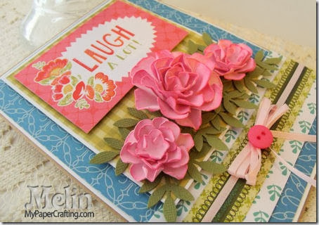 Citrus Stack-Rose Tutorial Card By Melin