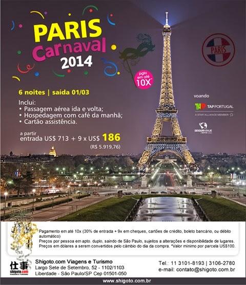 Carnaval 2014 em Paris