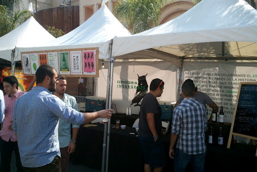 Cerveceria Inurgente at the Baja Beer Fest