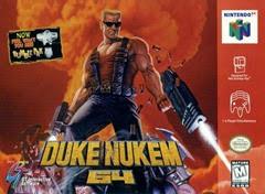 Duke Nukem 64 - Capa