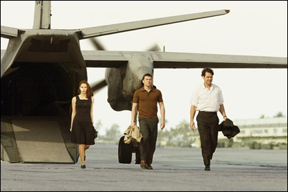 """THE DEBT""  Film Frame  (L-R) Jessica Chastain, Sam Worthington, Marton Csokas  ©Miramax Film Corp. All Rights Reserved."