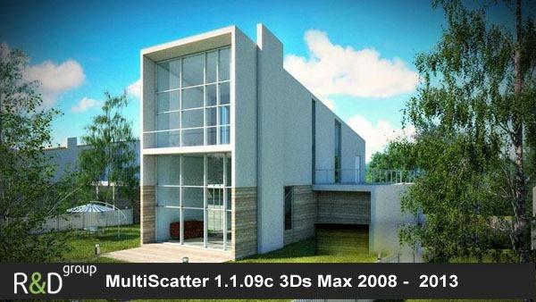 3dmaxstuff.com_MultiScatter v1.1.09c for 3dsMax 2013 x64