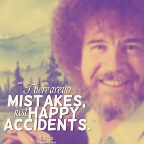 Bob Ross - Happy Accidents