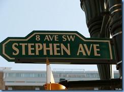 9878 Alberta Calgary Historic Stephen Avenue pedestrian mall