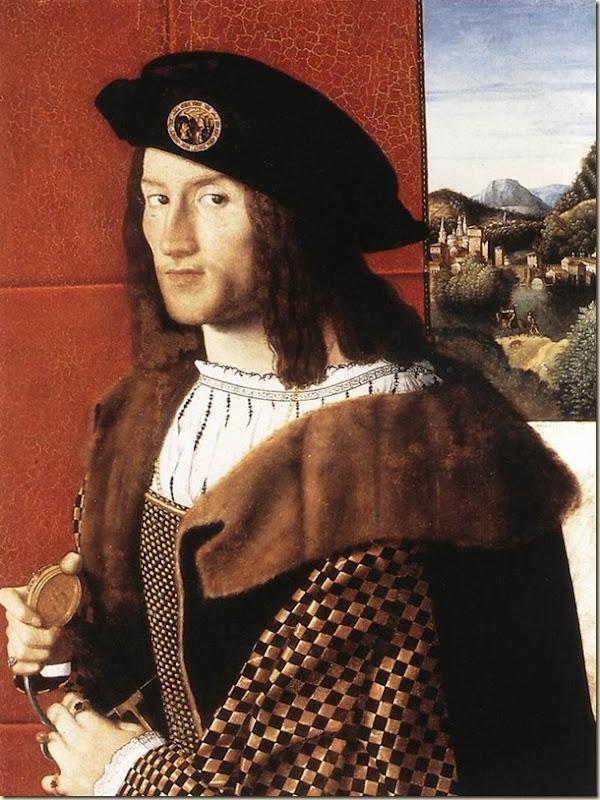 Bartolomeo Veneto, Portrait de jeune homme