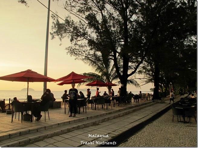 沙巴亞庇丹容亞路海灘夕陽 Perdana Park音樂水舞 (5)