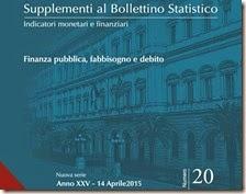Supplementi al Bollettino Statistico. Aprile 2015