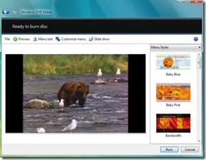 Steps To Create New Video DVD With Windows DVD Maker