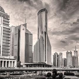 Shanghai by Serhan Tekin - Buildings & Architecture Office Buildings & Hotels