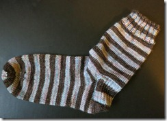 Anne Elliot sock 1 complete