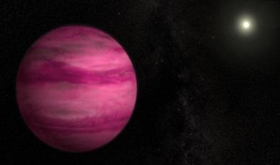ilustração do exoplaneta GJ 504b
