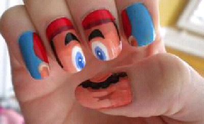 facial nails games