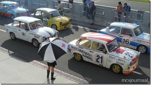 Dacia als safety car Classic Grandprix Schleiz  05