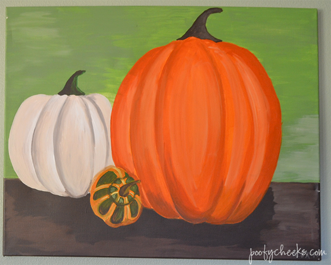 Fall Pumpkin Painting