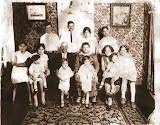 "Guistino Toppa's Family, 1930s - Top row: Tony, John, Ann ""Capuano"" (Tony's wife), Peter Razza