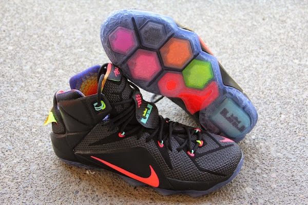 Closer Look at Upcoming Nike LeBron XII 12 8220Data8221