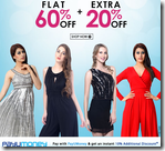 Fashionandyou : Get Flat 70% off + Extra 20% off for Rs. 1599 on Fashion wear