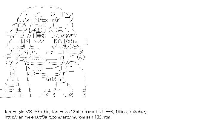 [AA]Yeti (Namiuchigiwa no Muromi-san)