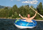 Floating on the Elk River