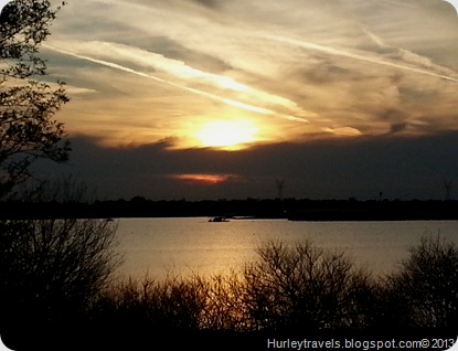 Lavon Lake, near Wylie, Texas