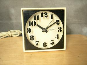 Seth Thomas Mini-Light alarm clock, white