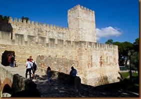 Lisbon, St George castle2