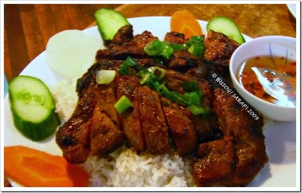 bbq pork chop on rice© BUSOG! SARAP! 2009