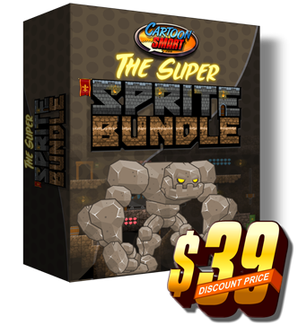 2d game asset super sprite bundle