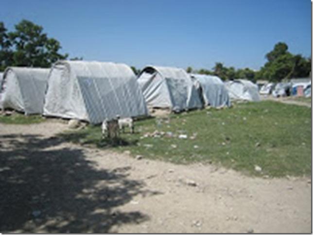haiti tents