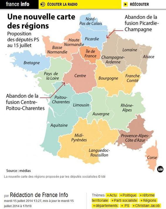 Novèla mapa socialista per una reforma.