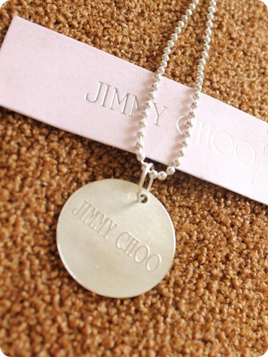 Jimmy Choo necklace