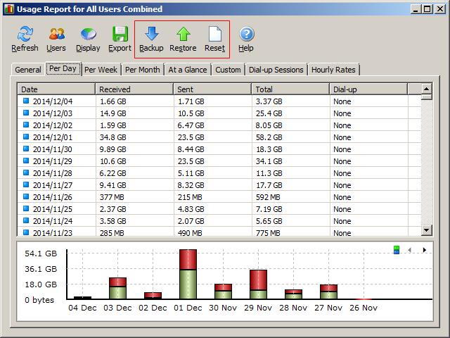 NetWorx MainUI