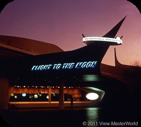 View-Master Tomorrowland (A179), Scene 2-2: Flight to the Moon