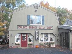 11.2011 Maine Windham Calico Basket quilt shop