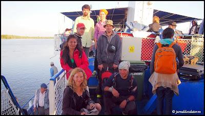 Ultima poza de grup din Delta Dunarii