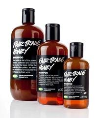 Fair trade productos para el cabello de Lush