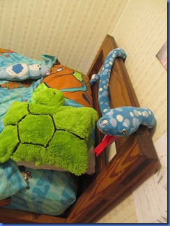decorate with stuffed animals