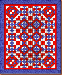 SF Mystery quilt